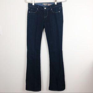 PAIGE LAUREL CANYON BOOT CUT JEANS SZ 25